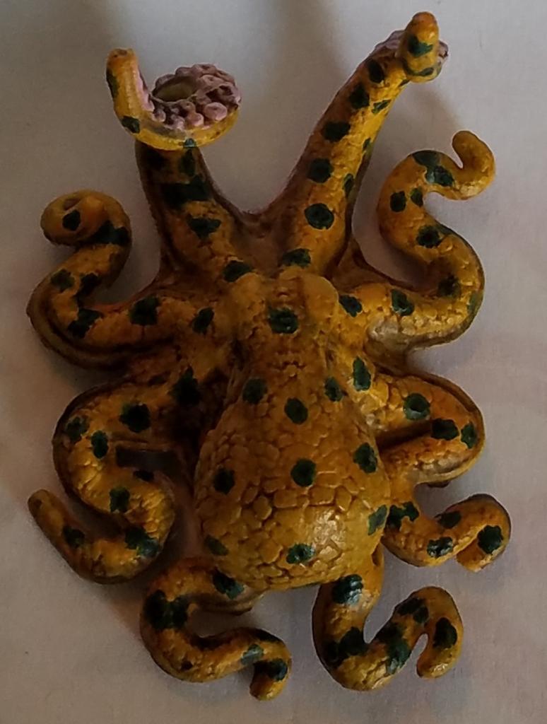 D&D Octopus miniature painted