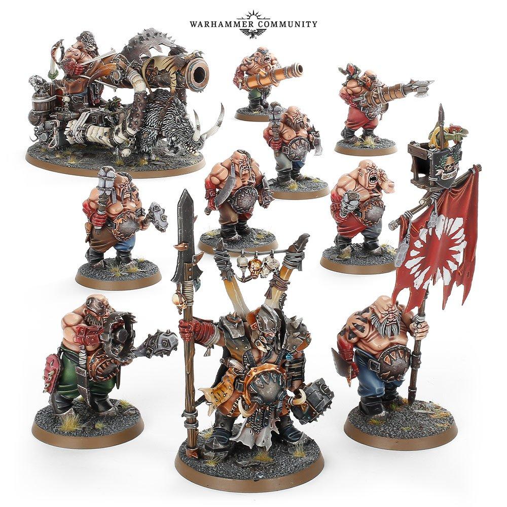 Warhammer Age Of Sigmar Ogor Mawtribes