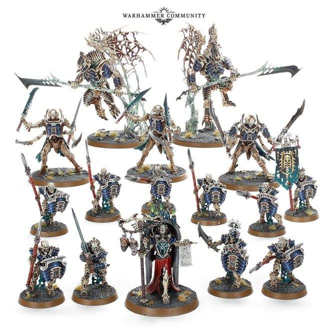 Warhammer Age of Sigmar Ossiarch Bonereaver Army