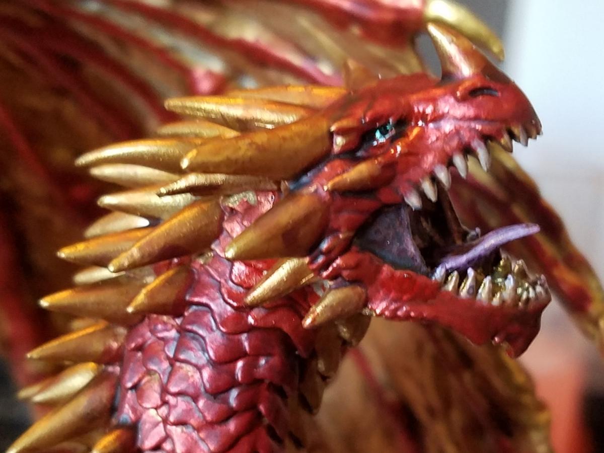 D&D Red Dragon Mini