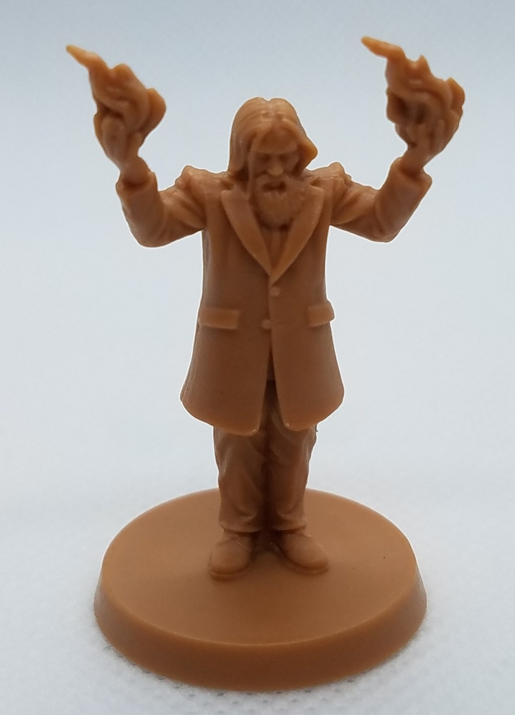 Wizard miniature from Death May Die