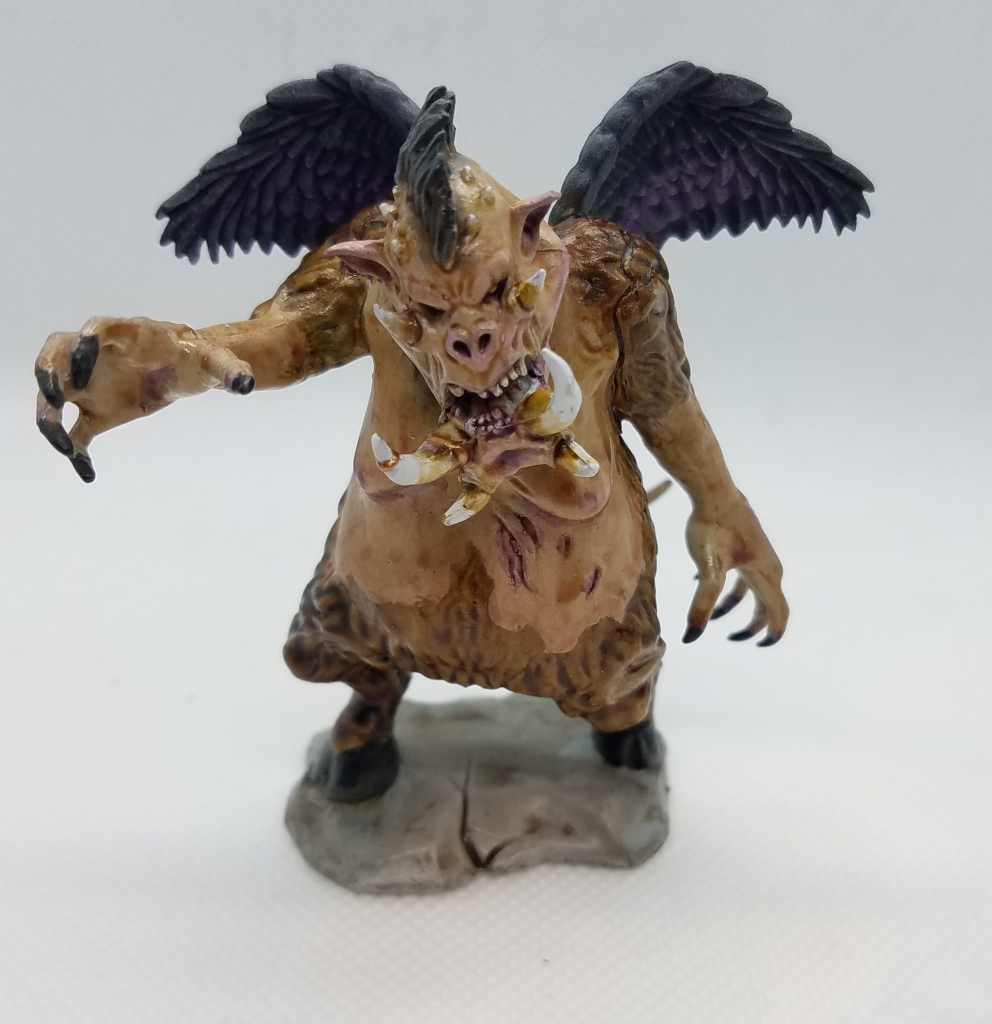 Painted Wizkids demon mini.