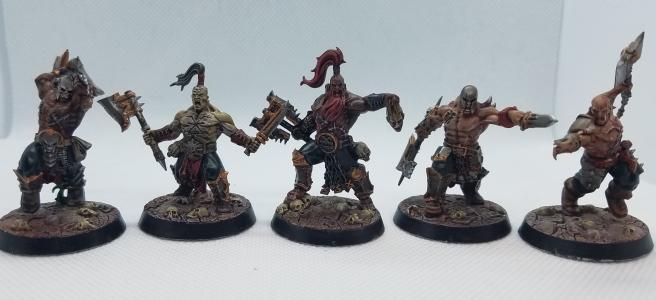 Warhammer Underworld's Garrek's Reaver's Painted