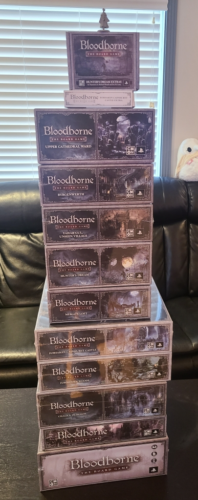 Bloodborne Board Game All-In Kickstarter