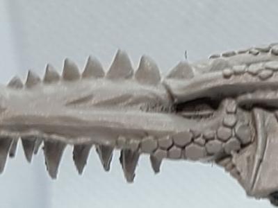 Warhammer Dragon Head
