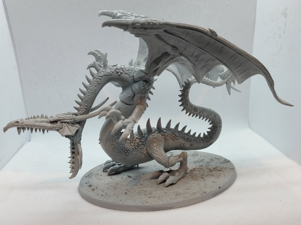 Warhammer Dragon Miniature Unpainted