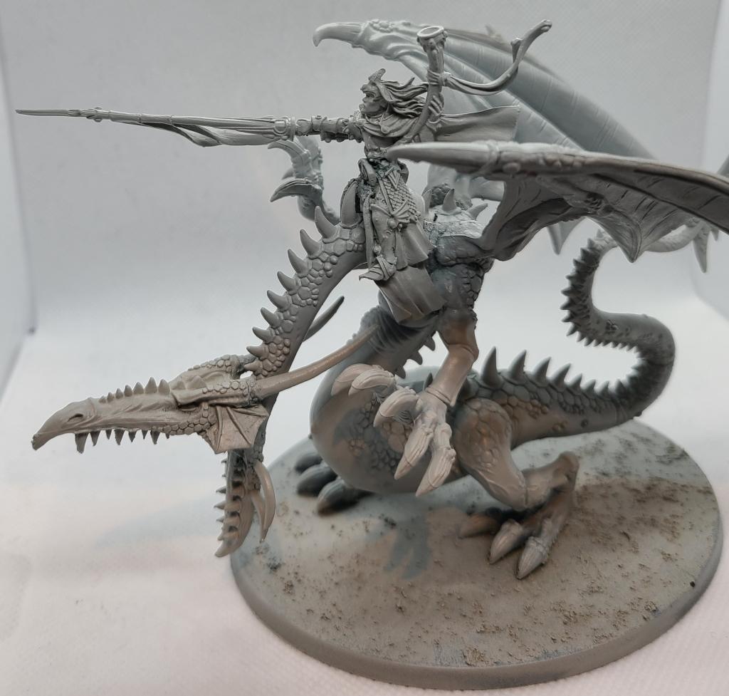 Warhammer Dragon Miniature Prince Imirk
