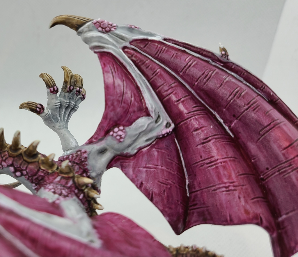 Dragon Miniature's Wings Painted