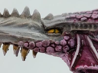 Dragon Face Banner