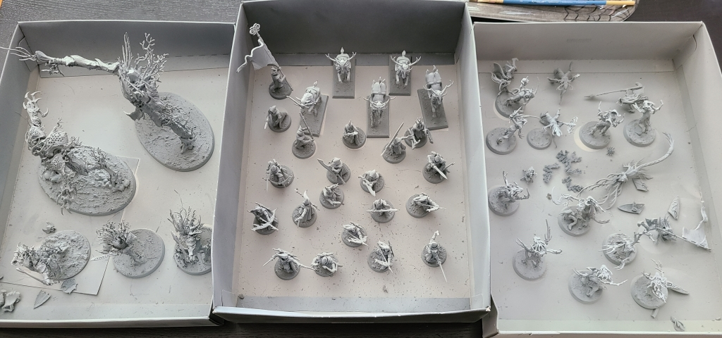 Cherry Blossom army unpainted